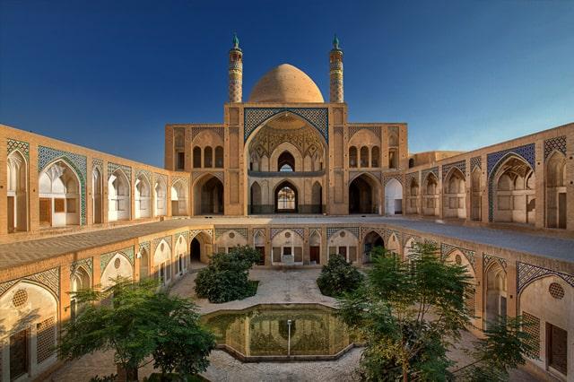Agha Bozorg Mosque Kashan Isfahan