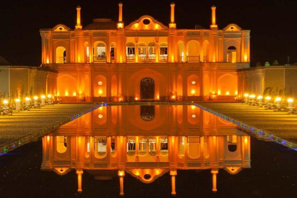 Fath Abad Garden at Night