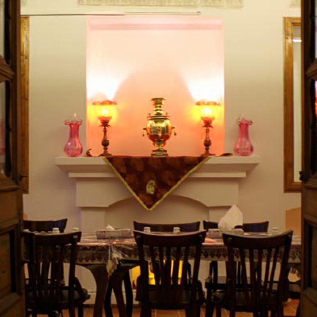 Interior view of Manouchehri Restaurant