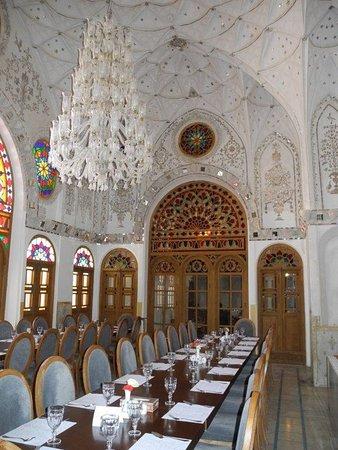 Mirrors Hall Restaurant Kashan