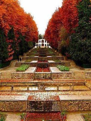The Autumn of Prince Mahan Kerman Garden