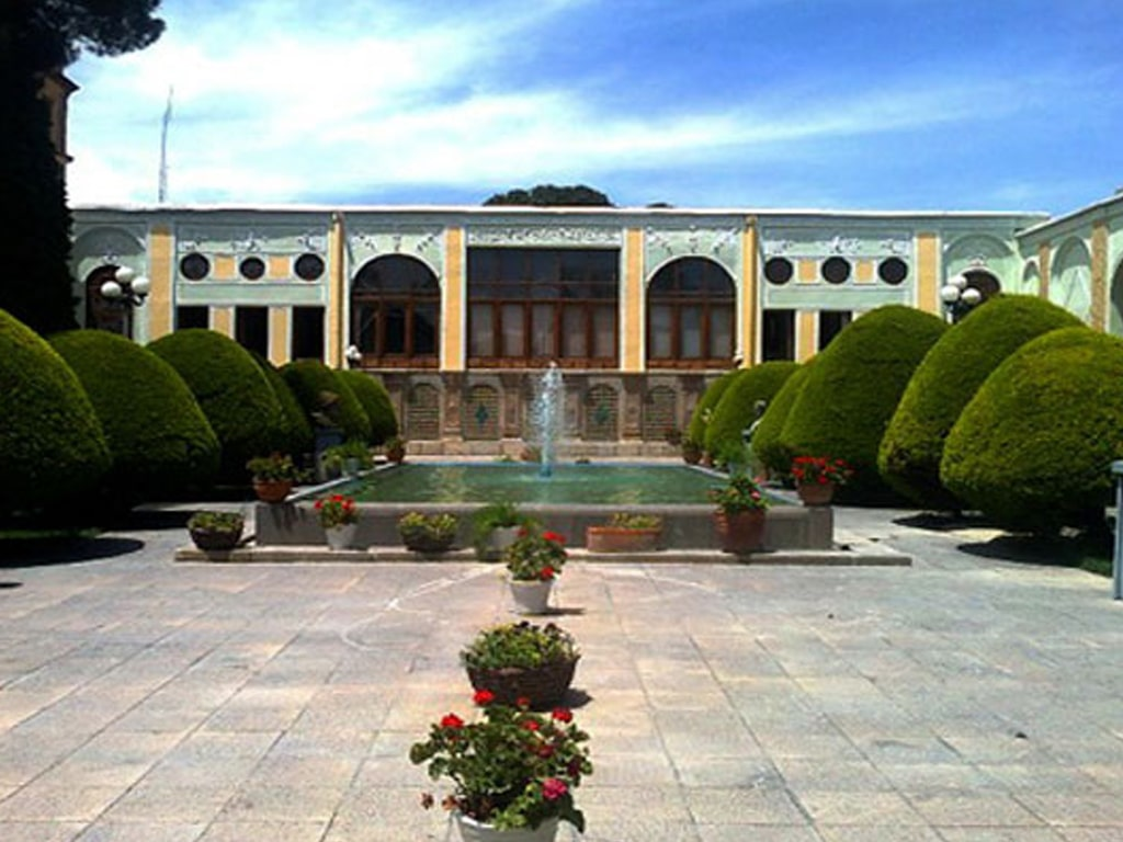 contemporary arts museum isfahan