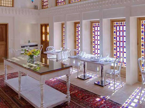 interior view of Manouchehri House Restaurant