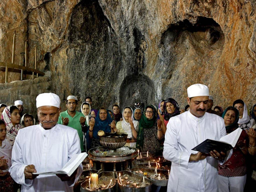 Inside Atashkadeh Yazd