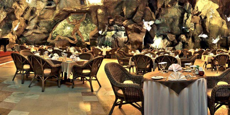 Interiors of Mount Nour Restaurant