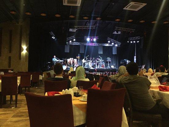 Interiors of Shandiz Safdari Restaurant