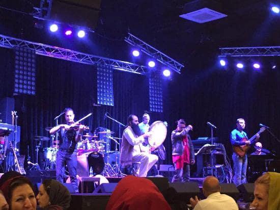 Live music of Shandiz Safdari Restaurant