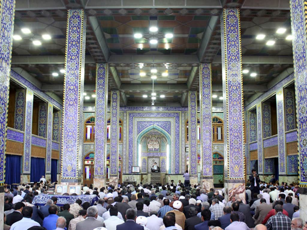 hazireh mosque yazd