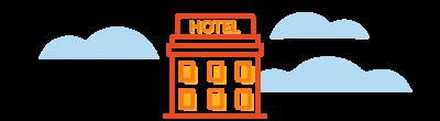 iranian hotel icon