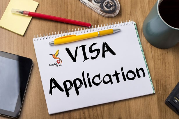 visa application iran online