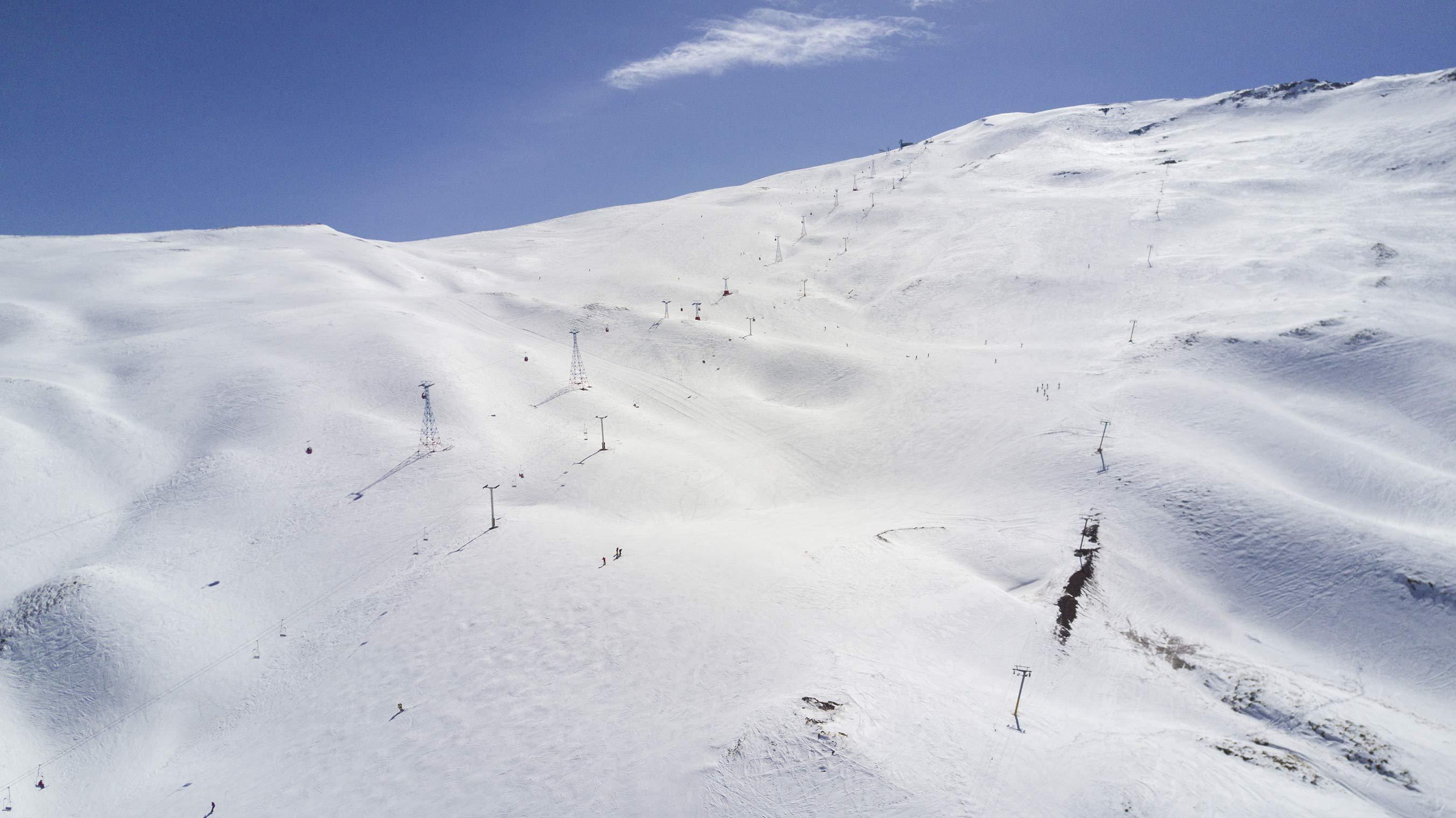 Iran ski tours dizin international resort