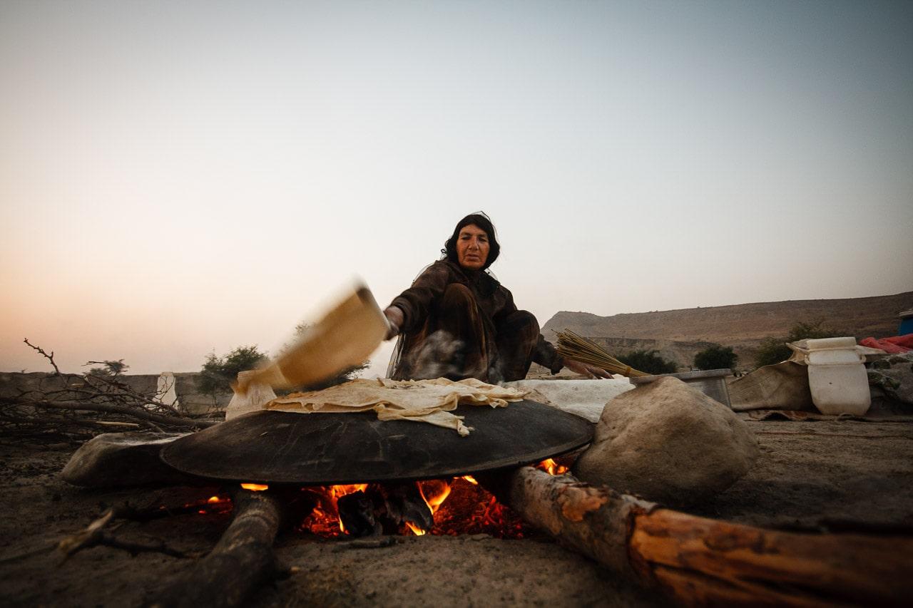 Iranian nomadic woman