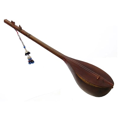 One of the traditional Persian musical instruments Dotar