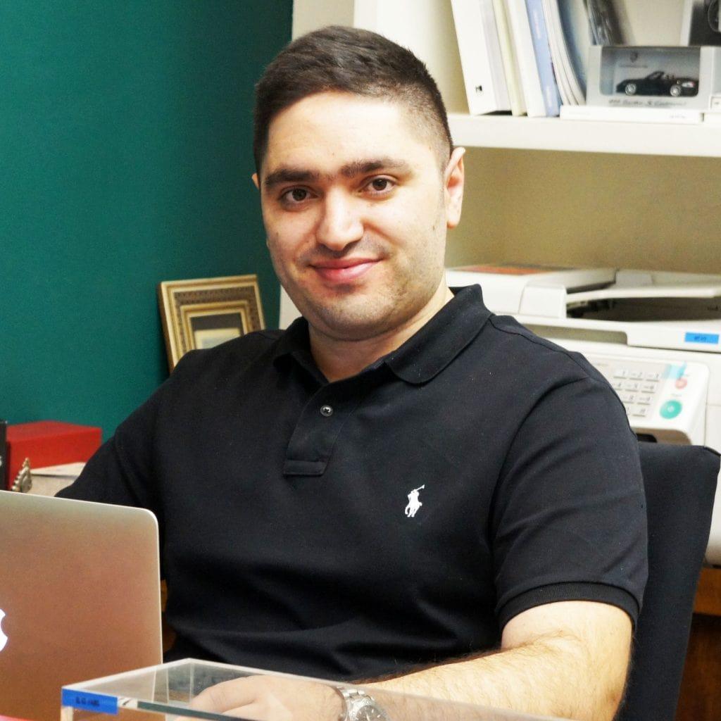 Pourya Saaty Sales Director