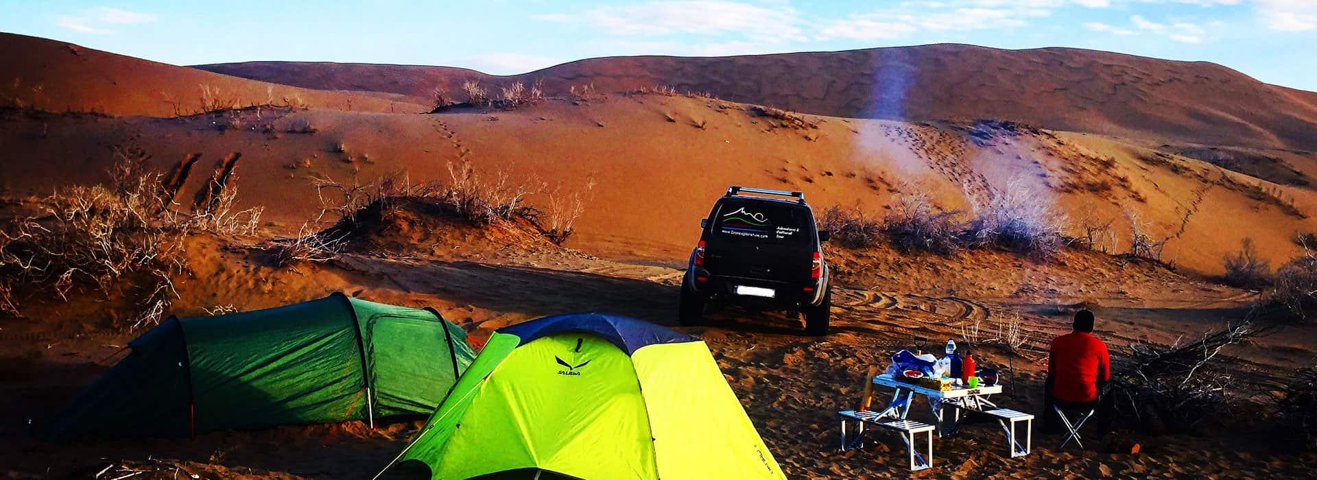 Safari Camp in Iran's Desert