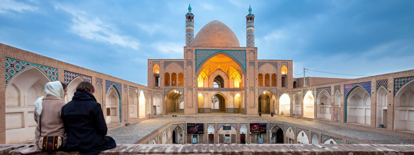Sightseeing Tour of agha bozorg mosque