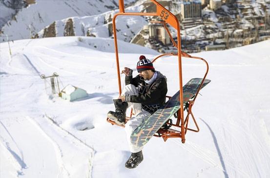 Ski resort Shemshak