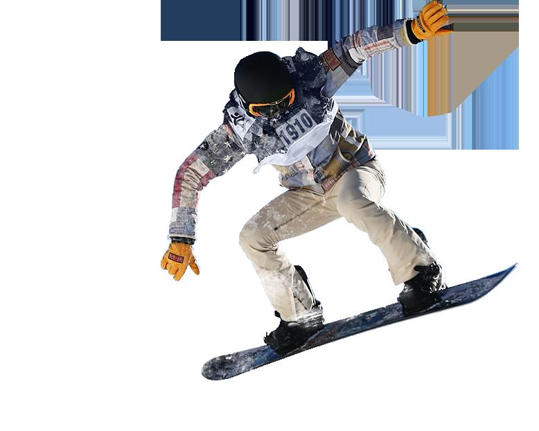 Snowboarding in iran