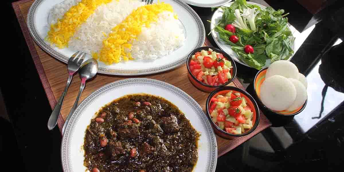 ghormeh sabzi popular persian food