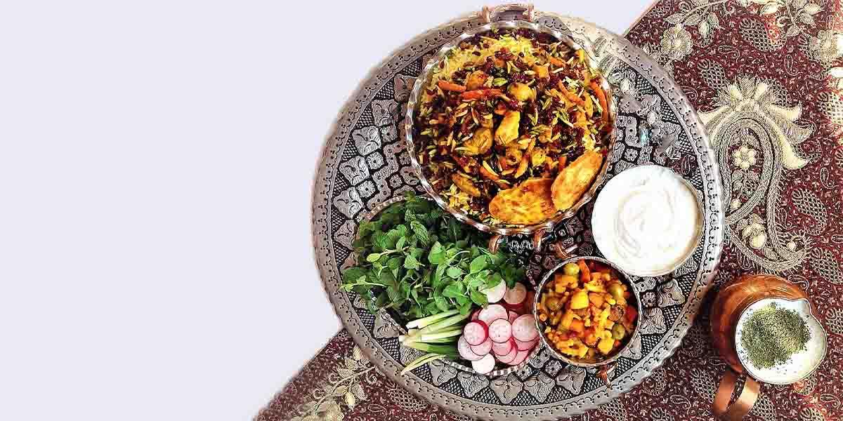 morasa polo popular iranian food