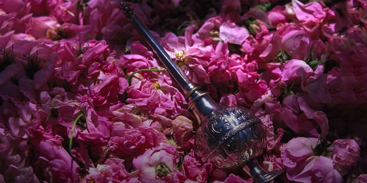 rosewater and persian culture