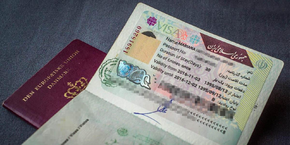 Iran visa on arrival experience