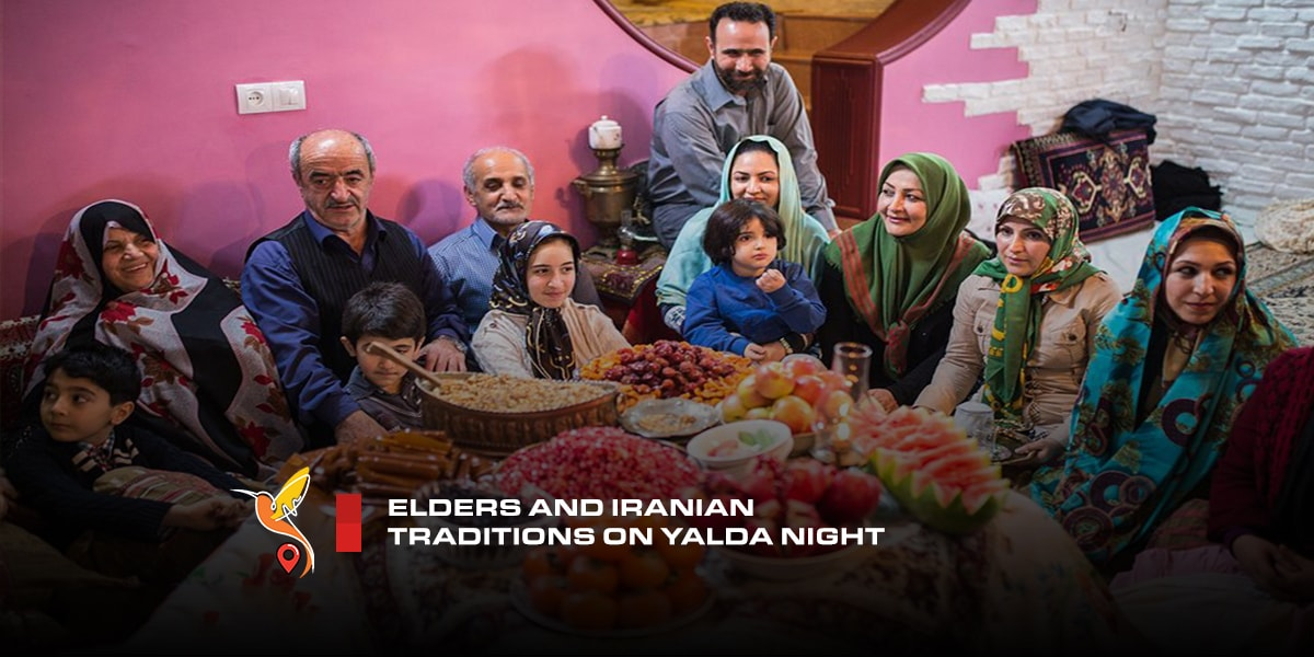 Elders and Iranian traditions on Yalda night