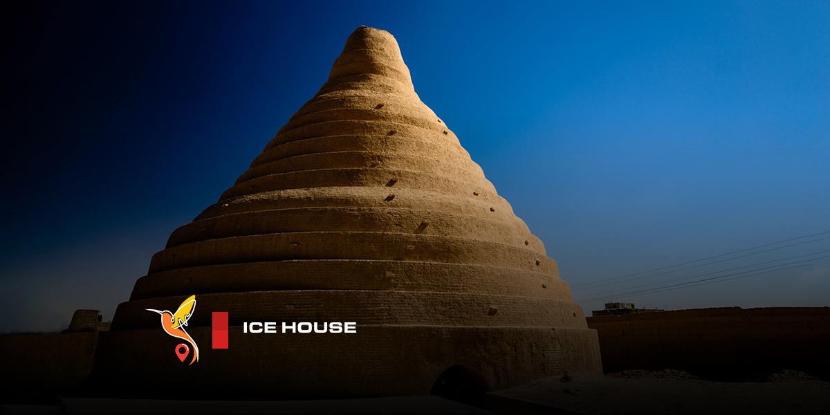 Ice house or refridgerator in abarkuh city in yazd province