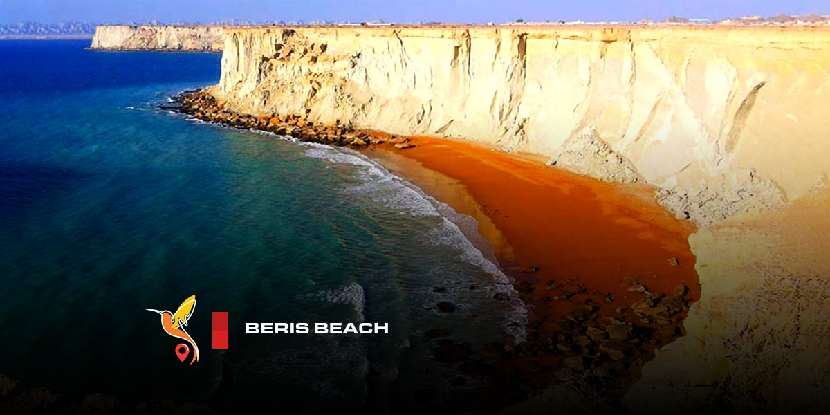 Beris beautiful beach in chabahar