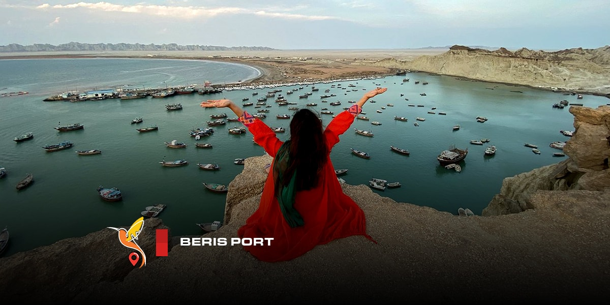 Beris port view in chabahar