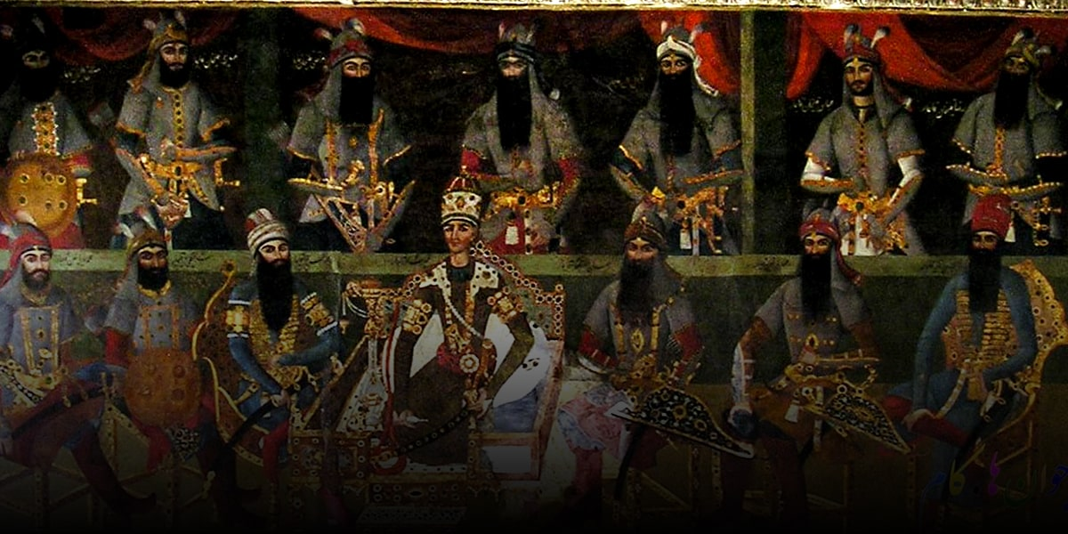 Qajar-Era and chaharshanbe suri in Iran-min