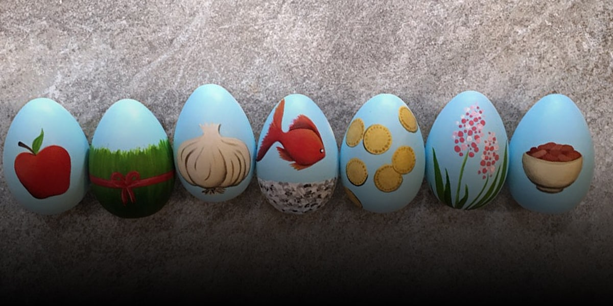 2. The belief of Iranians about Nowruz eggs 2-min