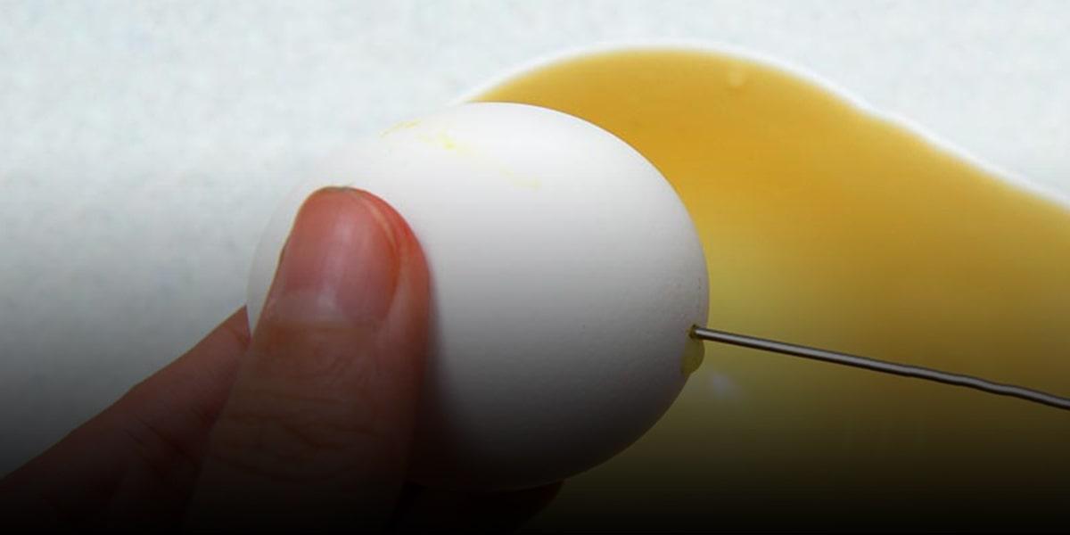 4. Be careful to not break the eggs 2-min