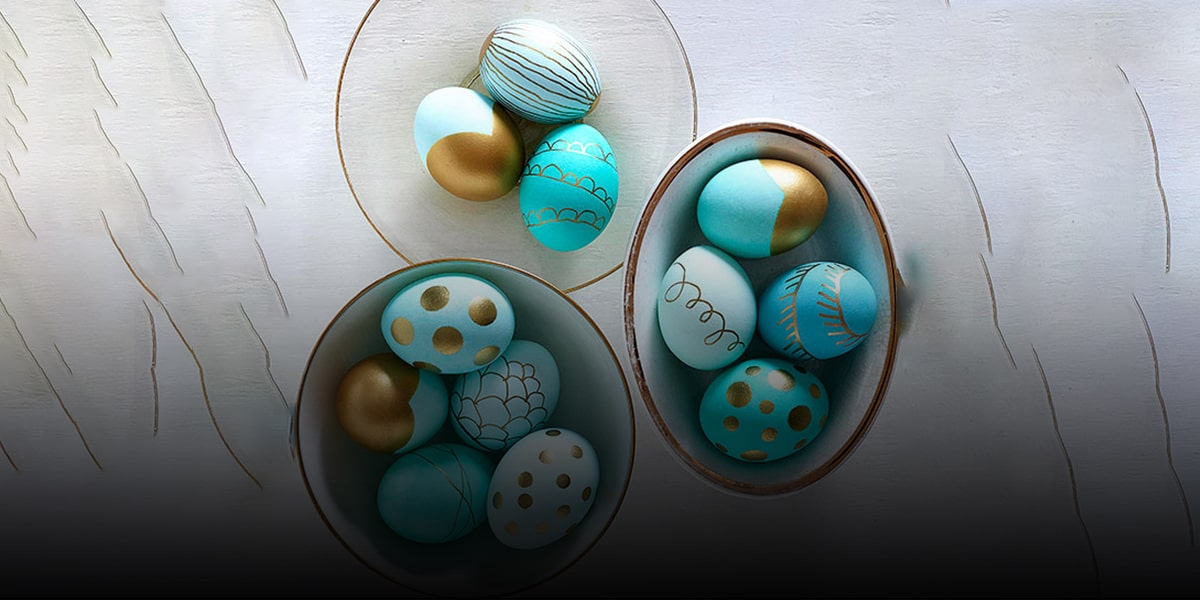 Water color and Nowruz Eggs