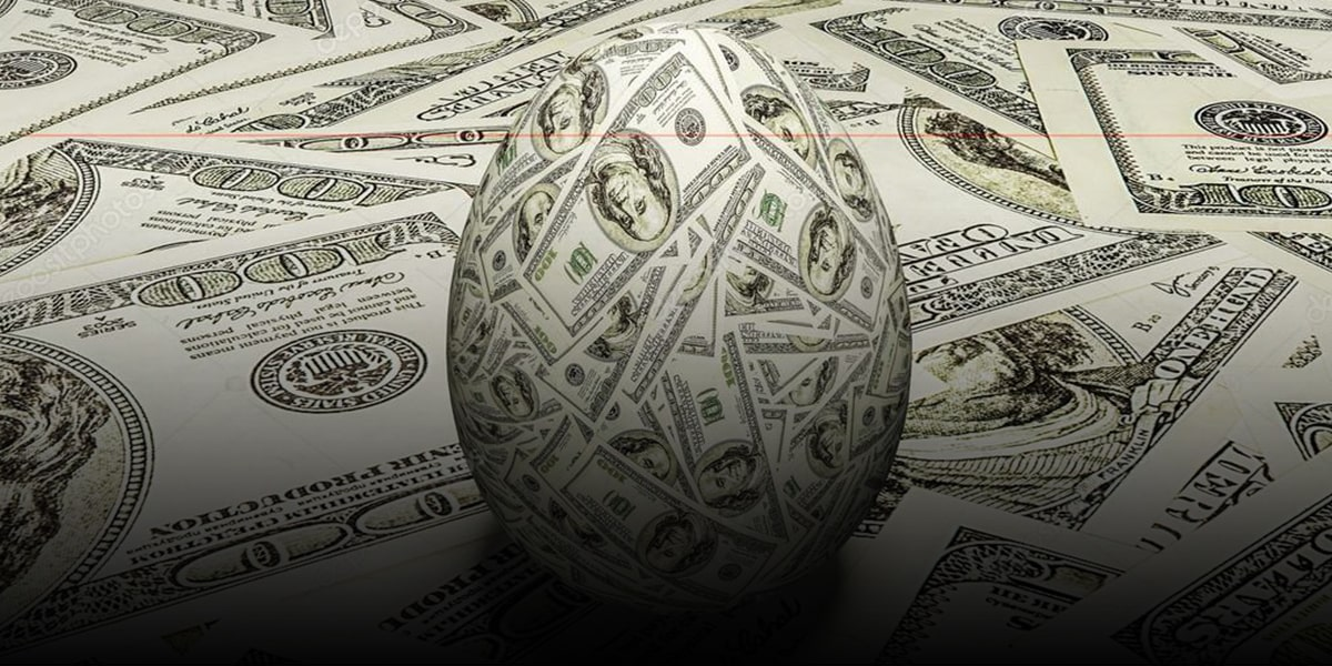 Attaching banknotes on Eggs )-min