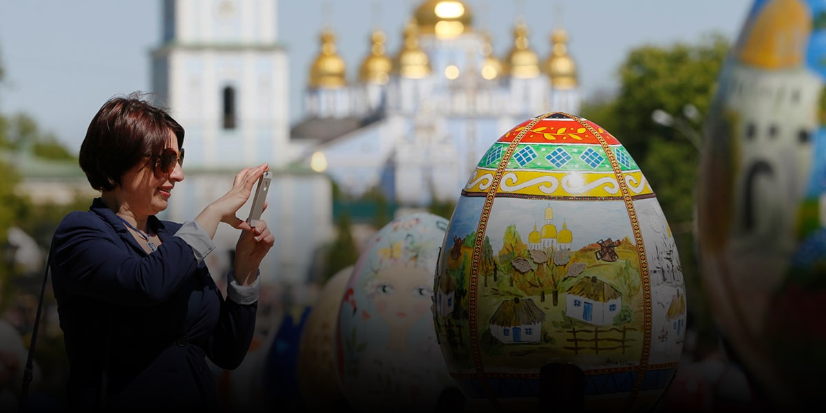 Eggs part of Christian symbolism in Russia