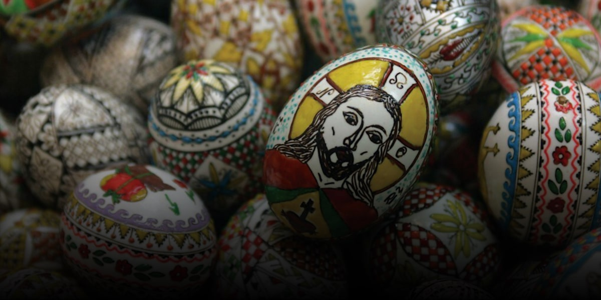 Russian Orthodox and Red Eggs