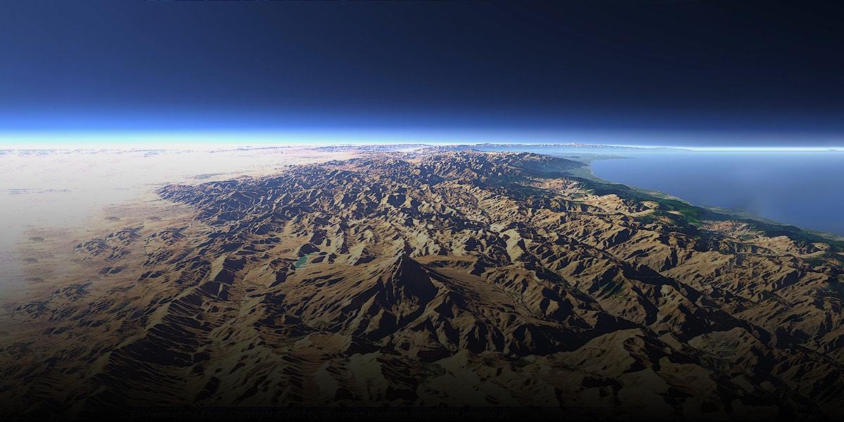 Cross the Mountains Of Iran-min