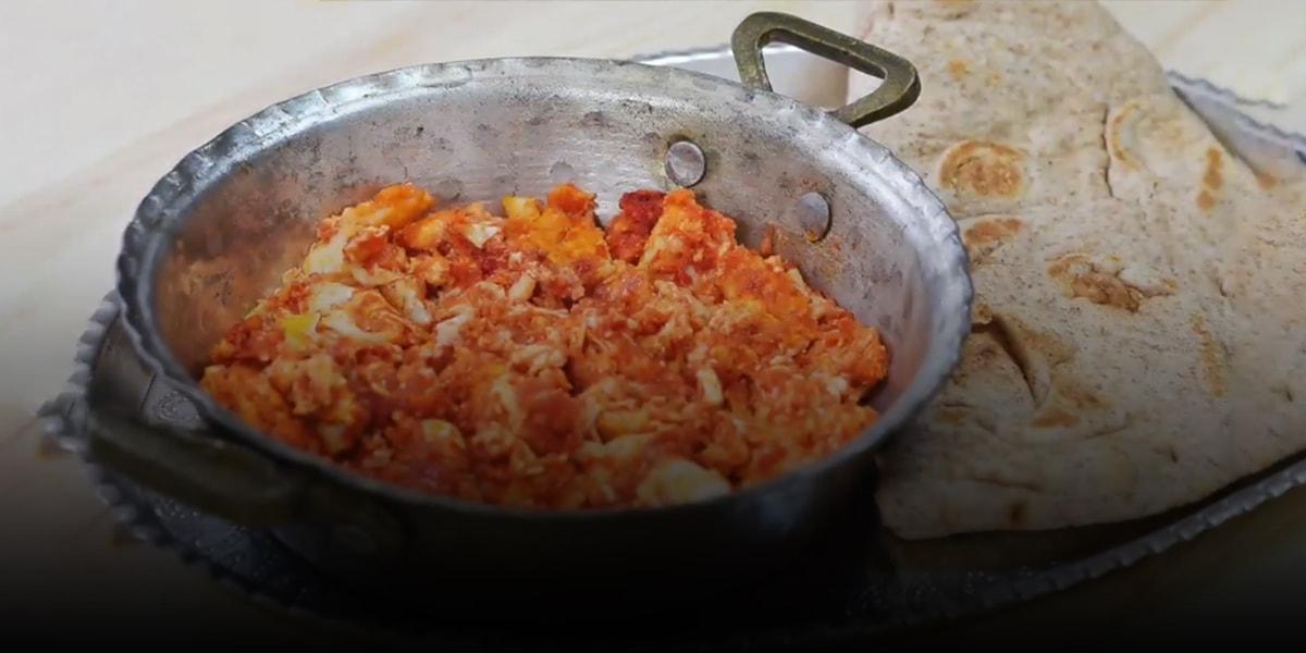 Omelet 1 Recipe of tomato omelet