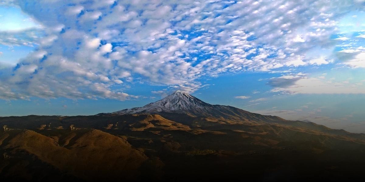 Overview of Volcanoes of Iran - Damavand-min