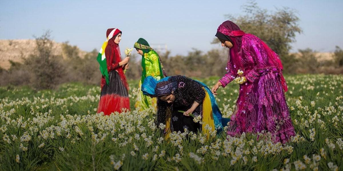 Persian flowers festival